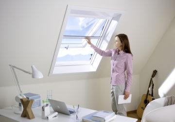 Rollo für Dachfenster